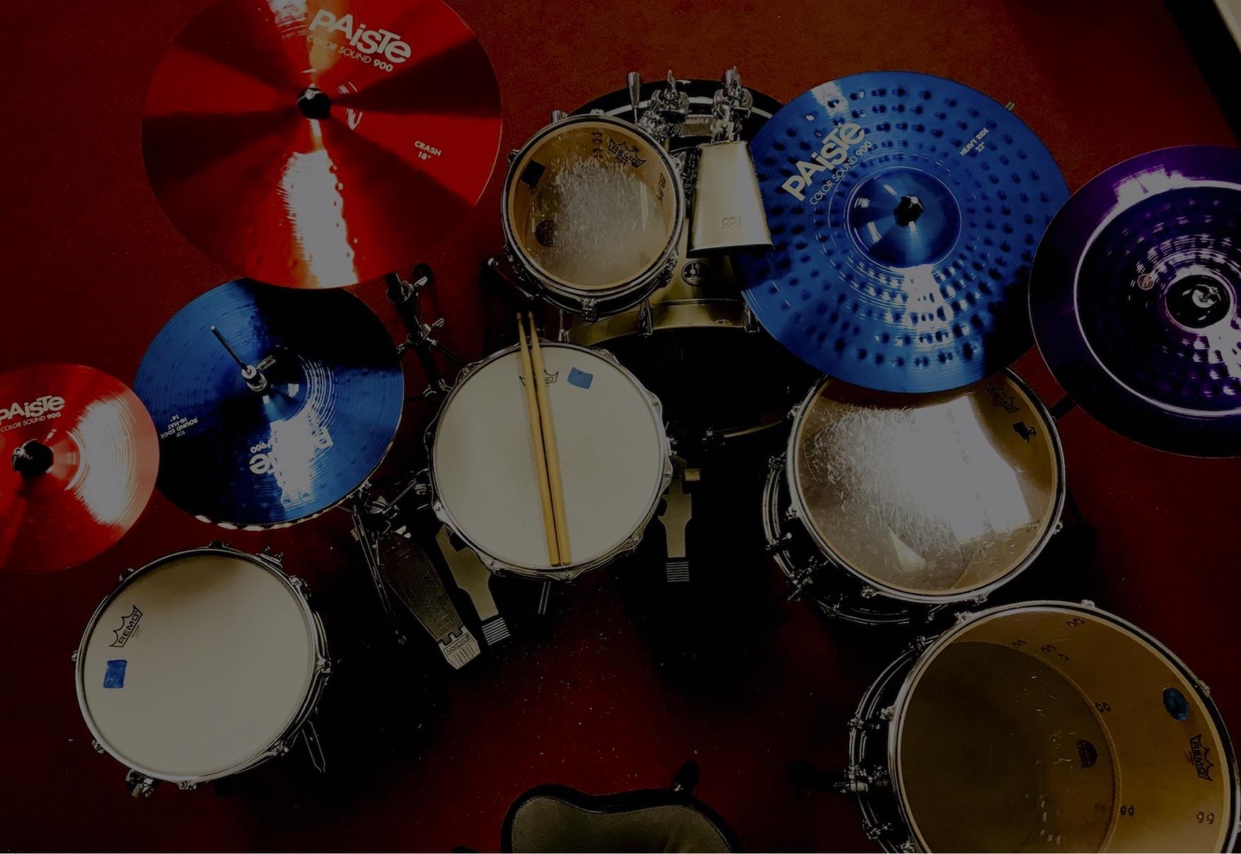 Trummikoolitus Ian Mikael Kirss trummikomplekt